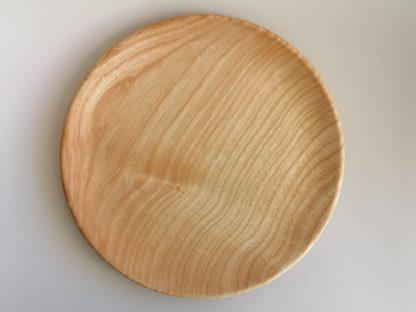 Assiette plate frene vue dessus
